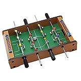Zayaa Mini Juego de fútbol de Mesa, Juegos de fútbol de Mesa de Madera interactivos para Padres e Hijos para Adultos, Juguetes educativos para niños