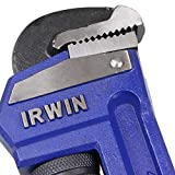 IRWIN VISE-GRIP Pipe Wrench, Cast Iron, SAE, 2-1/2-Inch Jaw, 18-Inch Length (45619)