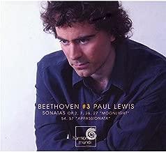 Beethoven: Piano Sonatas, Vol. 3 ~ Lewis