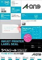 エーワン インクジェットプリンタラベル汎用インチ 28915 00011974【まとめ買い3パックセット】