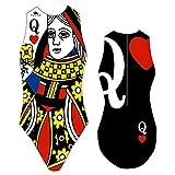 TurboTronic Queen Bragas de Bikini, Negro/Multicolor, XL para...