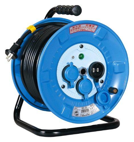 日動工業『防雨・防塵型電工ドラム(NPW-203S)』