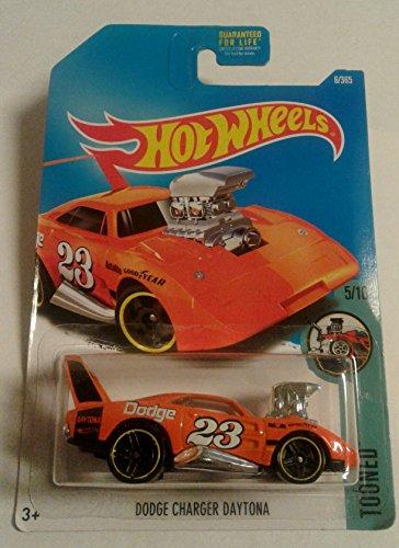 Hot Wheels, 2017 Tooned, Dodge Charger Daytona [Orange] 6/365