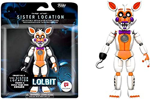 FIVE NIGHTS AT FrotDY'S Funko Action Figure  FNAF  Sister Location  Lolbit (Exc)