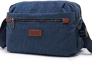Toiletry Bag,Canvas Travel Bags,Organizer Bag,Mini Beach Handbag for Men Women,Leather Bag(Brown)