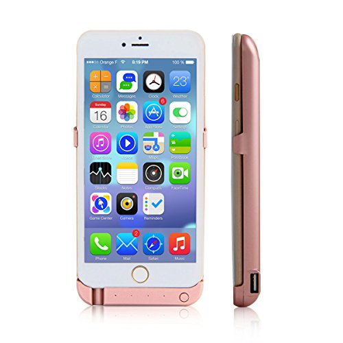 High Cap 10000mAh for iPhone 6 Plus/6S Plus Rechargeable Protective Battery Case