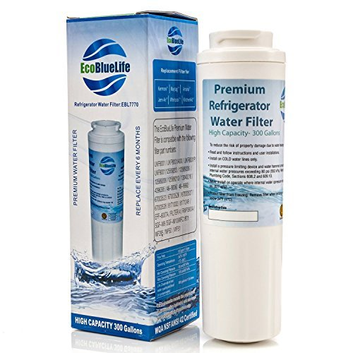 EcoBlueLife Replacement Water Filter, Compatible with Maytag UKF8001, EDR4RXD1, 4396395, Pur Filter 4, Kenmore 46-9005