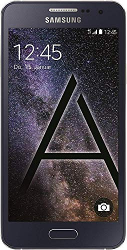 Samsung Galaxy A3 Smartphone (4,5 Zoll (11,4 cm) Touch-Display, 16 GB Speicher, Android 4.4) - Special.Edition. - Midnight Black