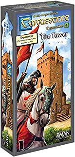 Carcassonne: The Tower 4th Expansion (English 2017 Edition) Board Game