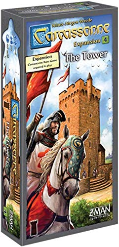 Carcassonne: The Tower 4th Expansion (English 2017 Edition) [UK-Import]