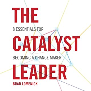 The Catalyst Leader audiobook cover art