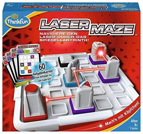 ThinkFun 76356 - Laser Maze™ - Das spannende Logikspiel mit echtem Laser ab 8 Jahren