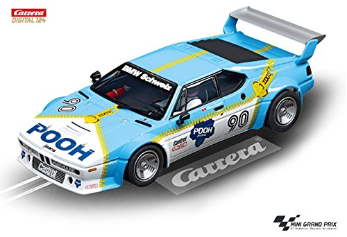 Carrera Digital 124 23828 – BMW M1 Procar Sauber Racing, No. 90 Norisring 1980
