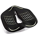 ASelected OrthopedicMemoryFoamSeatCushion - Office Chair Cushion for Coccyx Sciatica Hemorrhoid Tailbone Lower Back Pain Relief Lumbar Support - Ideal for Recliner Wheelchair Office Car