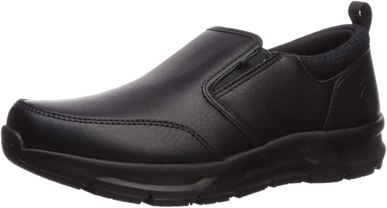 Emeril Lagasse Women's Quarter Slip on Tumbled Food Service Shoe