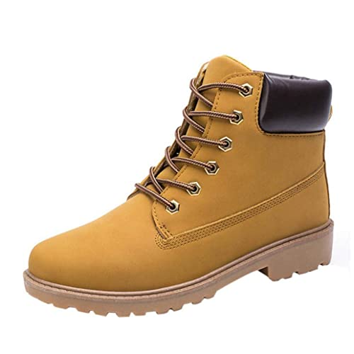 WWricotta LuckyGirls Zapatillas Casual Hombres Botas Pieles Forradas de Caña  Alta Moda Cómodas Calzado Andar Zapatos c79a2d7ec4a