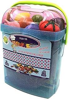comprar comparacion Tachan - Set alimentos de cortar 55 piezas en cubo transportable, azul (Tachan 7288409)