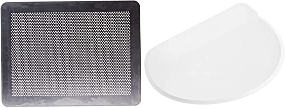 DE BUYER -7368.40 -plaque alu perforee plate 40x30cm & 858.00N -raclette coupe pate ronde polyethylene