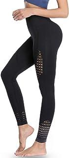 BBY Women Yoga Leggings, High Waist Tummy Control, Sports Leggings Running Tights Training Pants Casual Trousers (black10, M)