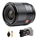 VILTROX Objetivo STM AF de 24 mm F1,8, lente de enfoque automático, compatible con cámara Sony E-mount A6600, A6500, A6400, A7m3, A7rev, A7RIII, A7III, A7RII, A7II, A7S