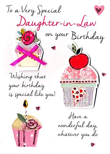 Special Daughter-In-Law Birthday Greeting Card Second Nature Just To Say Cards