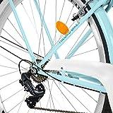 Zoom IMG-2 milord bicicletta comfort azzurro a