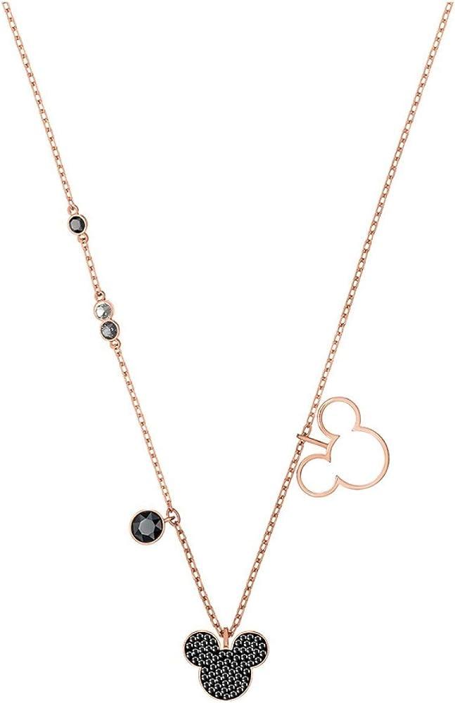 Swarovski collana con ciondolo per donna in lega di metalli anallergizzante con finitura oro e cristallo 5429081