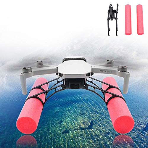 Drone Landing Float Water per DJI Mavic Mini, Bastone galleggiante esterno Drone Landing Float Parti d'acqua Stabilizzatore di atterraggio superficie dell'acqua