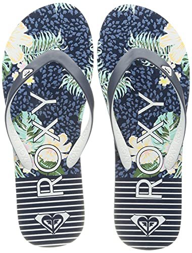 Roxy RG Tahiti Sandal for Girls, Chanclas, Azul Marino, 35 EU