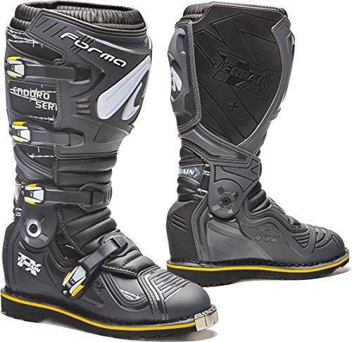 Forma Stiefel Moto Terrain TX Enduro homologuee Dieses anthrazit/schwarz
