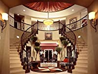 HD 6.5x5ft(2x1.5m)ゴージャスな宮殿天井キラキラ眩しいシャンデリア輝く家ホームリビングルーム家族の誕生日パーティー結婚式の装飾ポートレート背景写真背景299