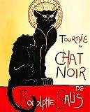 JH Lacrocon Henri de Toulouse-Lautrec - Tournee du Chat Noir Tableau Reproduction sur Toile Roulée - 50X60 cm Peintures Affiche Impressions Vintage pour Mur