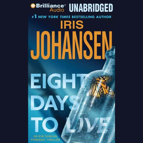 Eight Days to Live audiobook cover art