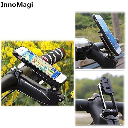 InnoMagi Soporte Movil Bicicleta Universal Rotación de 360°, Sostenedor Smartphone Bici y Bicicletas de Montañas MTB con 3M Adhesivo para iPhone X/8/8plus/7/6s/5s Samsung S8 Edge S6 S5 Note 5 HTC LG: Amazon.es:
