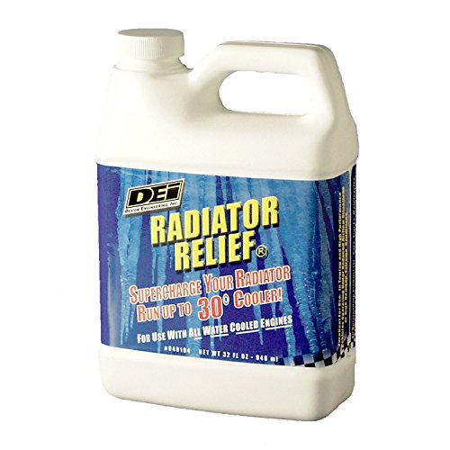 Design Engineering 040104 Radiator Relief Coolant Additive for All Water Cooled Engines, 32 oz.