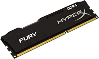 Memória RAM Kingston HyperX Fury 8GB DDR4 2400MHz Preto HX424C15FB2/8