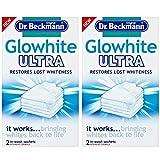 Dr Beckmann Glowhite Ultra - Blanqueador de tela (4 bolsas de 40 g)