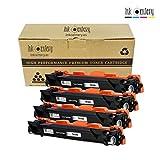 Ink Centery - Pack de 4 tóners compatibles con Brother TN1050, TN1030. Color negro, capacidad de impresión 1.500 páginas