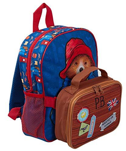 Paddington Bear Rugzak + afneembare Lunch Bag
