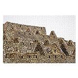 Detalle de Machu Picchu del rompecabezas peruano de 1000 piezas