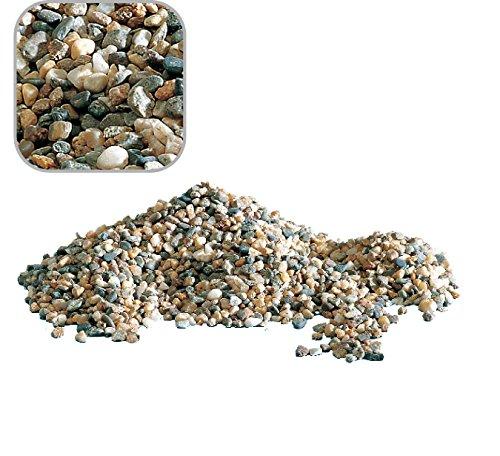 5 Kg Naturkies beige mittel \'Premium Qualität\' 2-4 mm Bodengrund Aquarium Kies Sand Bunt Natur Aquariumkies