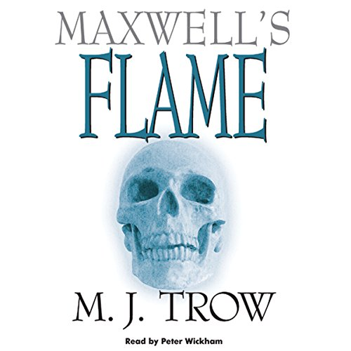 Maxwell's Flame audiobook cover art