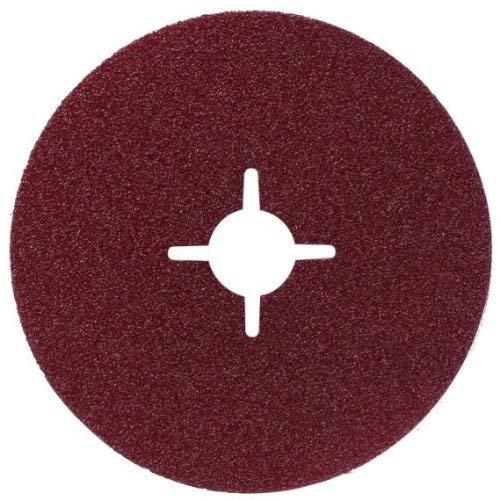 Bosch Professional Fiberschleifscheibe (für Winkelschleifer verschiedene Materialien, Ø 125 mm, Körnung 120)