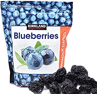 Kirkland Signature Whole Dried Blueberries (Resealable Bag) - 20 oz.