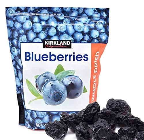 Kirkland Signature Whole Dried Blueberries Resealable Bag  20 oz