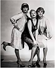 Marilyn Monroe Some Like it Hot with Tony Curtis and Jack Lemmon 8 x 10 Inch Photo