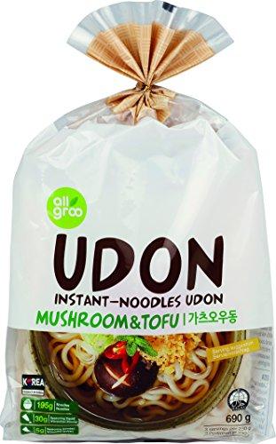 Allgroo (Almho) Fideos Udon Con Tofu Y Setas 690 g
