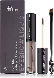 Waterproof Eyebrow Gel, 24Hours Long Lasting Brow Color Gel Mascara for Eyebrow Makeup, Sweat Resistant Transfer Proof Fills and Thickens Brows Gels, Ash Brown Color