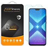 (2 Pack) Supershieldz Designed for Huawei Honor 8X Tempered Glass Screen Protector, 0.32mm, Anti Scratch, Bubble Free