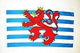 AZ FLAG Flagge Luxemburg MIT LÖWEN 150x90cm - LUXEMBURGISCHE Fahne 90 x 150 cm - flaggen Top Qualität